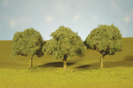 Bachmann Oak Trees SceneScapes 3 to 3-1/2in 7.6 to 8.9cm 3-Pack