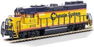 Bachmann N Scale EMD GP40 Diesel Locomotive (Standard DC) Chessie System/B&O