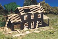 Bachmann HO Scale Plasticville Building/Structure Kit - House Under Construction