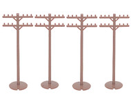 Bachmann HO Scale SceneScapes Accessory Set Telephone Poles 12-Pack