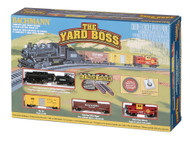 Bachmann N Scale Yard Boss Train Set - Atchison Topeka Santa Fe Railway/ATSF