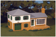 Plasticville O Scale USA Built-Up Building/Structure Split-Level House