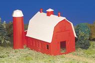 Bachmann HO Scale Plasticville Classic Building/Structure Kit - Barn