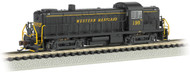 Bachmann N Scale Alco RS3 Diesel Locomotive (DCC) Western Maryland/WM #198