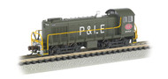 Bachmann N Scale Alco S4 Switcher (DCC) Pittsburgh & Lake Erie/P&LE #8662