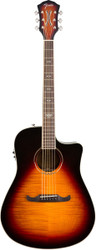Fender® T-Bucket 300CE Acoustic Electric Guitar Sunburst