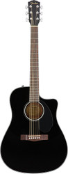 Fender® CD-60SCE Acoustic Electric Guitar Black