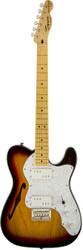 Squier Vintage Modified '72 Telecaster® Tele® Thinline Electric Guitar Sunburst