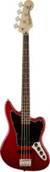 Squier Vintage Modified Jaguar® Bass Crimson Red Transparent