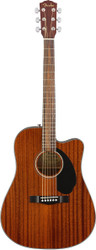 Fender® CD-60SCE Acoustic Electric Guitar Mahogany