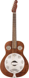 Fender® Brown Derby Resonator Acoustic Guitar