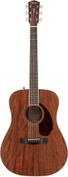 Fender® PM-1 Paramount Dreadnought NE All-Mahogany Acoustic Guitar w/ Case