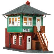Atlas HO Scale Model Railroad Building Kit Signal/Switch Interlocking Tower