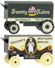 Micro-Trains MTL N-Scale Vintage Bakery Wagons 2-Pack Sweety Kakes/Mothers Bread