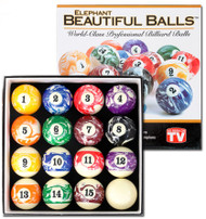 Elephant Beautiful Balls Pool/Billiard Ball Set