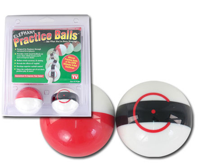 Elephant Practice Pool/Billiard Training Cue Ball