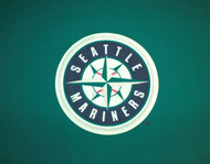MLB Seattle Mariners 9-Foot Wool/Nylon Billiards/Pool Table Cloth/Felt