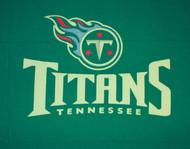 NFL Tennessee Titans 8-Foot Wool/Nylon Billiards/Pool Table Cloth/Felt