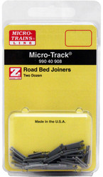 Micro-Trains MTL Z-Scale Micro-Track - Track Roadbed Road Bed Joiners (24pk)