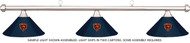 NFL Chicago Bears Blue Metal Shade & Chrome Bar Billiard Pool Table Light