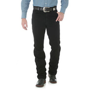 Wrangler Men's Jean Black Slim Fit