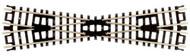 Atlas N Scale Code 80 15 Degree Crossing Model Train Track