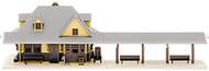 Atlas N Scale Model Railroad Building Kit Passenger Train Station