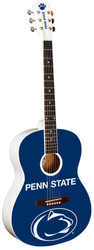 Penn State Univeristy PSU Nittany Lions Acoustic Guitar