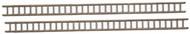 Durango Press HO Scale Model Railroad Detail Parts - Ladders/Plastic (2-Pack)