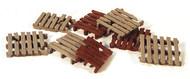 Durango Press HO Scale Model Railroad Detail Parts - Pallets (8-Pack)