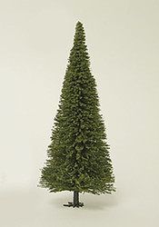 "Life-Like/Walthers HO Scale Evergreen Trees Model Train Layout 7"" Tall (3-Pack)"
