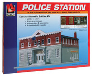 Life-Like/Walthers N Scale 5th Precinct Police Station Building/Structure Kit