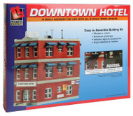Life-Like/Walthers N Scale Downtown Hotel Building/Structure Kit