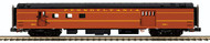 MTH O Scale Premier 70' Smoothside Railway Post Office Pennsylvania Railroad/PRR