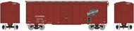 Athearn HO Scale 40' Superior Door Box Car Chicago Northwestern/CNW/FDDMS #12296