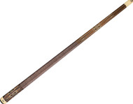 Viking A556 Leopardwood & Ivory Inlays Pool/Billiard Cue - East Indian Rosewood