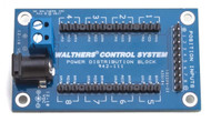 Walthers Layout Control System - Power Distribution Block - 8 Switch Machines