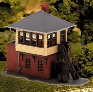 Atlas N Scale Model Railroad Building Kit Signal/Switch Interlocking Tower