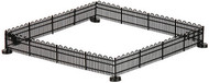 Atlas N Scale Model Railroad/Train Accessory Hairpin Fence (15 Inches)