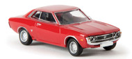 Brekina HO Scale Vehicle 1971 Toyota Celica GT (Assembled) Drummer Carmine Red