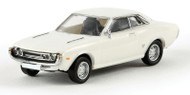 Brekina HO Scale Vehicle 1971 Toyota Celica GT (Assembled) Drummer White