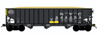 Bluford Shops N Scale 70-Ton 3-Bay Hopper/Wood Chip New York Central/NYC #922253