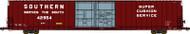Bluford Shops N Scale P-S 86' Auto Parts Boxcar Southern Railway/SOU #42954