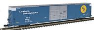 Bluford Shops N Scale P-S 86' Auto Parts Boxcar Chesapeake & Ohio/C&O #493908