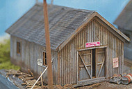 Northeastern Scale Models N Scale Building/Structure Kit Storage Shed