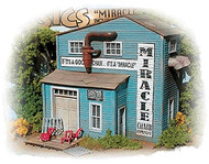Bar Mills HO Scale Model Railroad Building/Structure Kit - The Miracle Chair Co