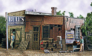 Bar Mills HO Scale Model Railroad Building/Structure Kit - Bulls Salvage