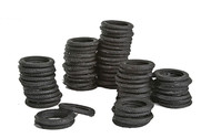 Bar Mills O Scale Model Railroad Detail Parts - Tire Stacks