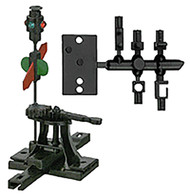 Caboose Industries HO Scale Model Railroad Detail Parts High Switch Stand Rigid