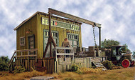 Bar Mills HO Scale Model Railroad Building/Structure Kit Cranberry Freight Yard
